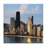 Chicago from Lake Shore Drive Tile Coaster