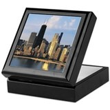 Chicago from Lake Shore Drive Keepsake Box