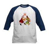 Battle Over Christmas: Santa vs. Jesus Tee