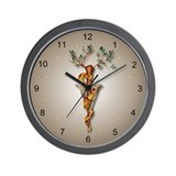 Staff of Aesculapius Wall Clock