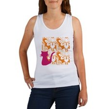 Mod Kitty Silo Women's Tank Top