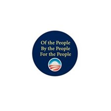 Of the People: Mini Button