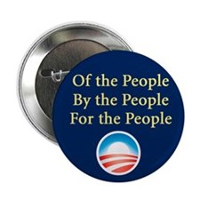 """Of the People: 2.25"""" Button"""