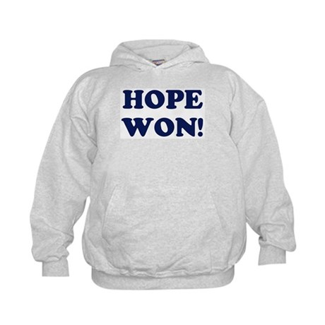 Hope Won (simple) Kids Hoodie