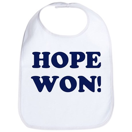 Hope Won (simple) Bib