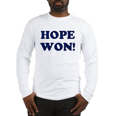 Hope Won (simple) Long Sleeve T-Shirt