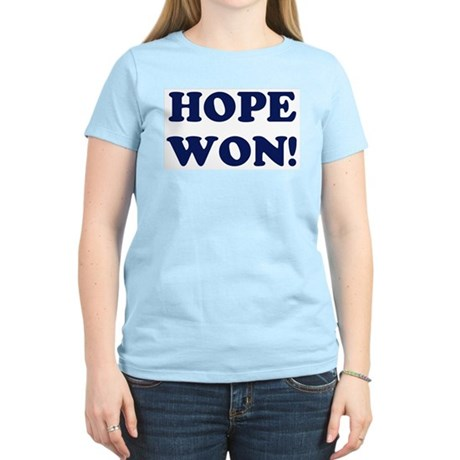 Hope Won (simple) Women's Light T-Shirt