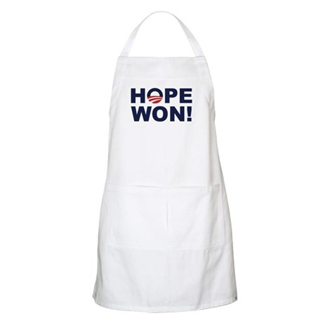Hope Won! (Obama Symbol) BBQ Apron