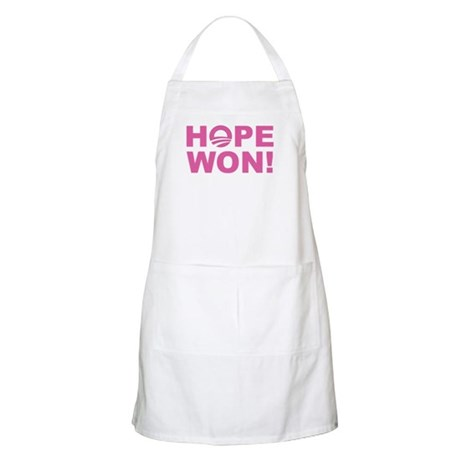 Hope Won (Obama - Pink) BBQ Apron