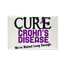 CURE Crohn's Disease 3 Rectangle Magnet