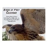 Birds of Prey Calendar Wall Calendar