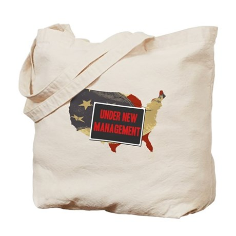 USA Under New Management Tote Bag