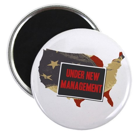 USA Under New Management Magnet