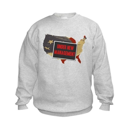USA Under New Management Kids Sweatshirt