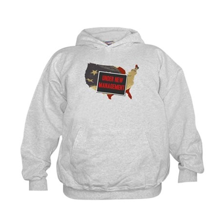 USA Under New Management Kids Hoodie