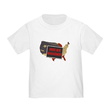 USA Under New Management Toddler T-Shirt