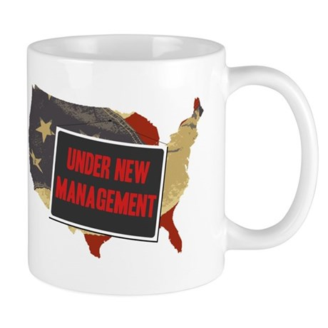 USA Under New Management Mug