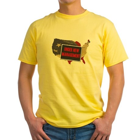 USA Under New Management Yellow T-Shirt
