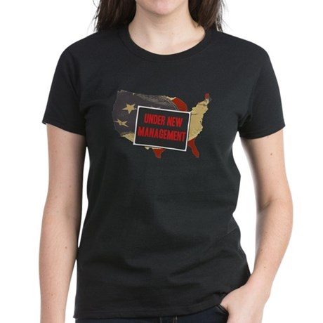USA Under New Management Womens T-Shirt
