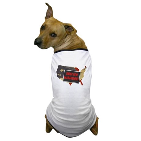 USA Under New Management Dog T-Shirt