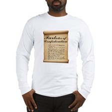 Farticles of Confederation Long Sleeve T-Shirt