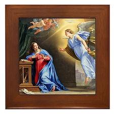 """""""Annunciation"""" Framed Tile"""