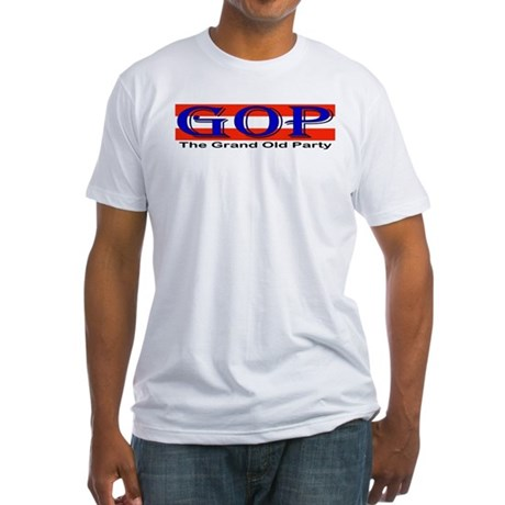 GOP Repulican Fitted T-Shirt