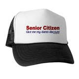 Senior Citizen Discount Hat