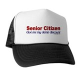Senior Citizen Discount Trucker Hat