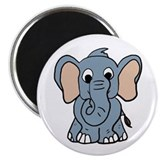 Cute Elephant Magnet