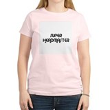 SUPER HEADMASTER Women's Pink T-Shirt