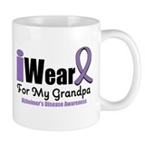 I Wear Purple (Grandpa) Mug