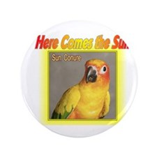 "Sun Conure 3.5"" Button (100 pack)"
