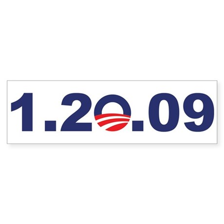 1.20.09 - President Obama Bumper Sticker