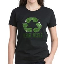 Please Recycle Grunge Tee