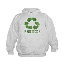 Please Recycle Grunge Hoodie