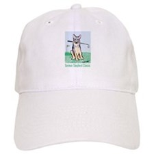Cute German shepherd Cap