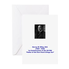 Harvey Wiley FDA Greeting Cards (Pk of 20)