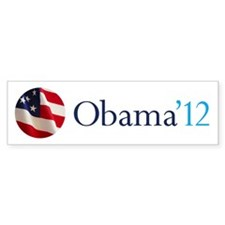 Obama '12 Bumper Sticker (10 pk)