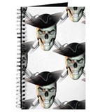 Pirate Skull Journal