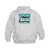 HOPE Ovarian Cancer 3 Hoodie