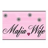 MAFIA WIFE Postcards (Package of 8)
