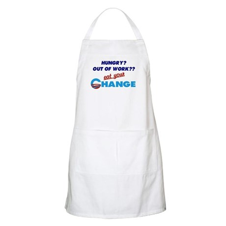 Eat Your Change BBQ Apron