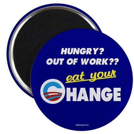 "Eat Your Change 2.25"" Magnet (10 pack)"