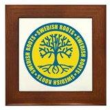 Swedish Roots Framed Tile