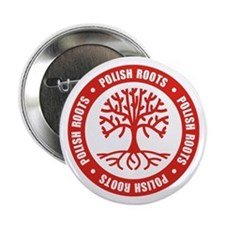 "Polish Roots 2.25"" Button"