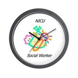 NICU Social Worker Wall Clock