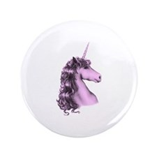 "Pink Unicorn 3.5"" Button (100 pack)"