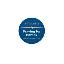 Unique Pray for obama Mini Button (10 pack)