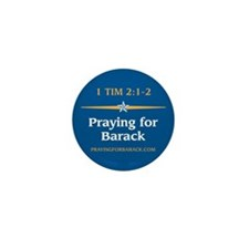 Unique Pray for obama Mini Button